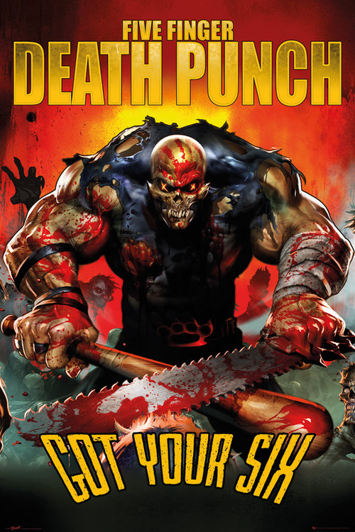 Póster Five Finger Death Punch 143589
