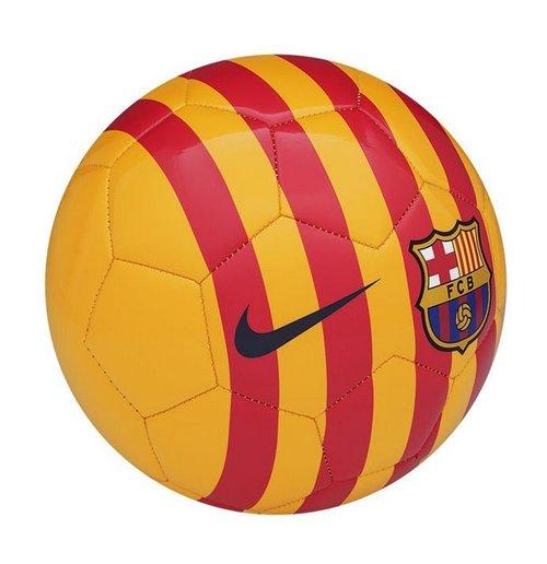 Compra Balón Fútbol FC Barcelona 2015-2016 Nike Supporters (Amarillo) 6a6846ab423