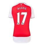 Camiseta Arsenal 2015-2016 Home
