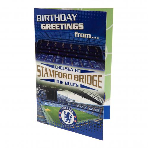 Tarjeta regalo Chelsea F.C. Pop-Up Birthday Card