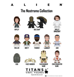 Alien Expositor de 20 Packs con Minifiguras The Nostromo Collection Titans 8 cm