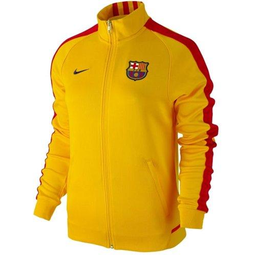 38469c1b6e5fe Compra Chaqueta FC Barcelona 2015-2016 Nike N98 (Amarilla) de mujer