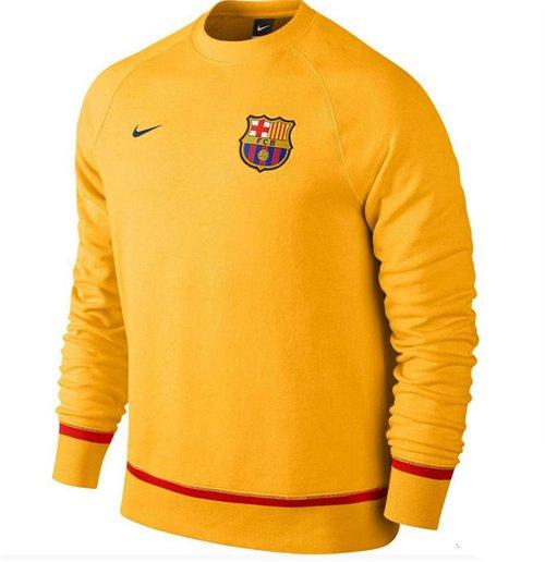 Compra Sudadera FC Barcelona 2015-2016 Nike AW77 (Amarilla) Original c848356b8fa