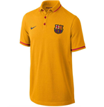 Polo FC Barcelona 2015-2016 Nike Authentic (Dorada) de niño