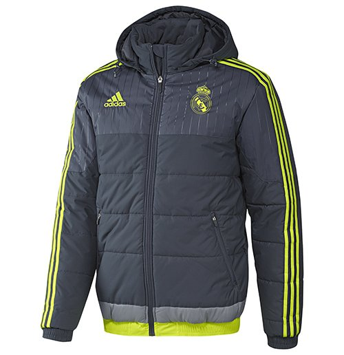 so cheap quality design sale uk Chaqueta Real Madrid 2015-2016 (Gris)