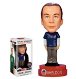 The Big Bang Theory Wacky Wobbler Cabezón Sheldon Exclusive Superman Formula Shirt 15 cm