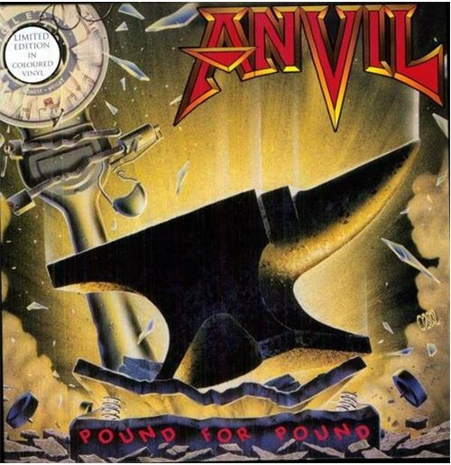 Vinilo Anvil - Pound For Pound (2 Lp)