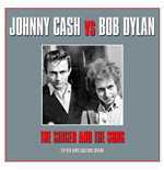 Vinilo Johnny Cash / Bob Dylan - The Singer & The Song (2 Lp)