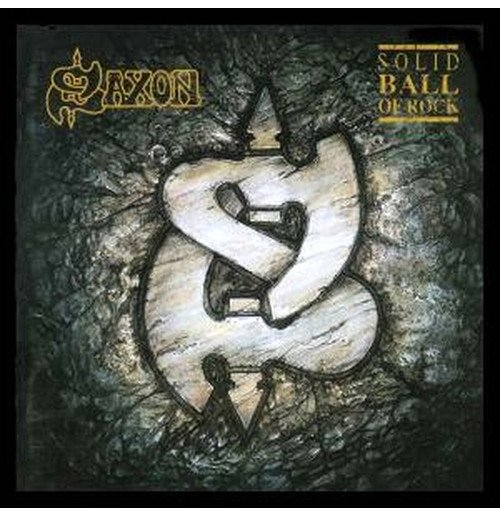 Vinilo Saxon - Solid Ball Of Rock