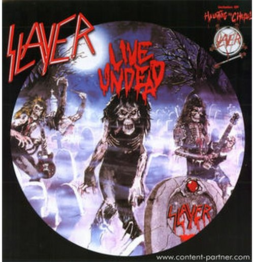 Vinilo Slayer - Live Undead/hauntung The Chapel