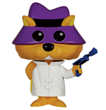 Hanna Barbera POP! Animation Vinyl Figura Secret Squirrel 9 cm