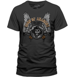 Camiseta Sons of Anarchy Winged Logo