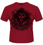 Camiseta Sons of Anarchy - Reaper Banner