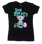Camiseta Big Bang Theory Sing Soft Kitty To Me