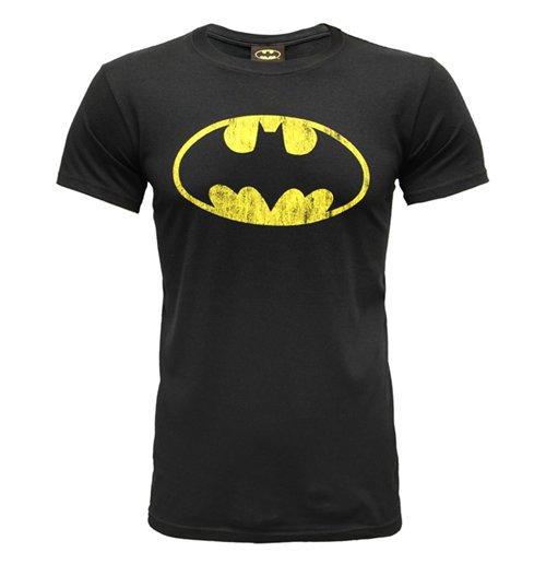 Camiseta Batman - Distressed Logo 579f5c2cf3085