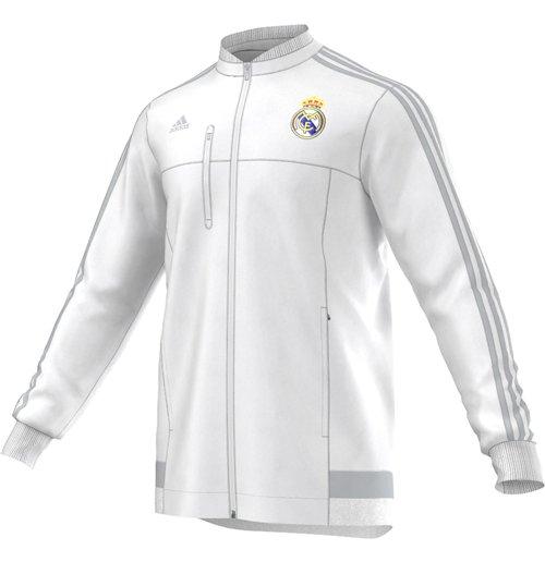 Compra Chaqueta Real Madrid 2015-2016 (Blanco) Original 89e2e93064531
