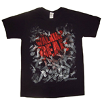 Camiseta The Walking Dead Walker Horde And Logo