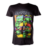Camiseta Tortugas Ninja - Bright Graffiti