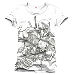 Camiseta Deadpool - Sketch