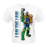 Camiseta 2000AD Judge Dredd - I Am The Law 2