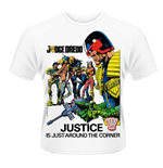 Camiseta 2000AD Judge Dredd - Justice