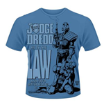 Camiseta 2000AD Judge Dredd - He Is The Law