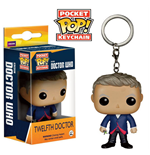 Doctor Who POP! Vinyl Llavero 12th Doctor 4 cm