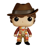 Doctor Who Figura POP! Television Vinyl 4th Doctor 9 cm