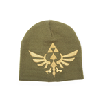 The Legend of Zelda Gorro Woven Golden Logo