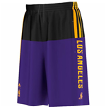 Pantalón corto Los Angeles Lakers (Morado)