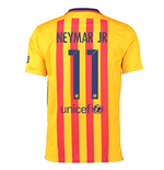 Camiseta FC Barcelona 2015-16 Away (Neymar Jr 11) de niño