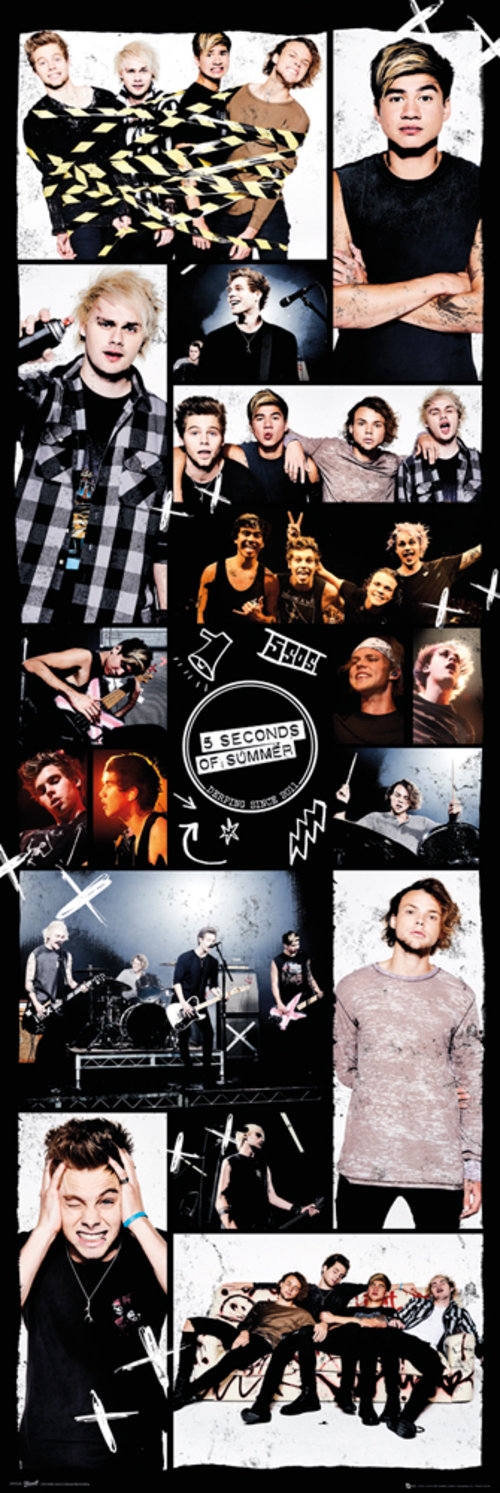 Póster 5 seconds of summer Grid 2