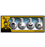 Breaking Bad Pack de 4 Vasos de Chupitos