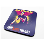 The Big Bang Theory Pack de 6 Posavasos Bazinga Purple