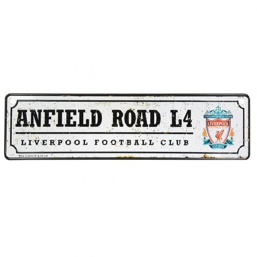 Placa de metal Liverpool FC
