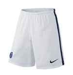 Pantalón corto Paris Saint-Germain 2015-2016 Away (Blanco)