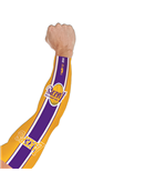 Tatuaje falso (manga) Los Angeles Lakers