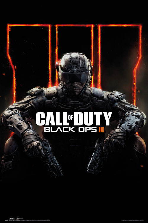 Maxi Póster Call of Duty Black Ops 3