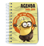 Minions Agenda Escolar Survival of Yellowest *Edición Portugués*