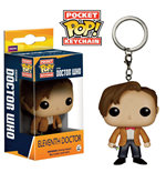 Doctor Who POP! Vinyl Llavero 11th Doctor 4 cm