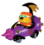 Hanna Barbera POP! Rides Vinyl Vehículo con Figura Wacky Races Mean Machine 20 cm