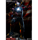 Iron Man 3 Estatua 1/4 Iron Patriot 56 cm