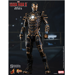 Iron Man 3 Figura Movie Masterpiece 1/6 Iron Man Mark XLI Bones 30 cm