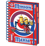 Minions Libreta A5 British Mod Red