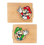 Nintendo Monedero Woodgrain Snap