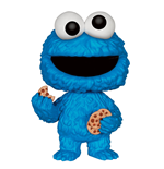 Barrio Sésamo Figura POP! Sesame Street Vinyl Cookie Monster 9 cm