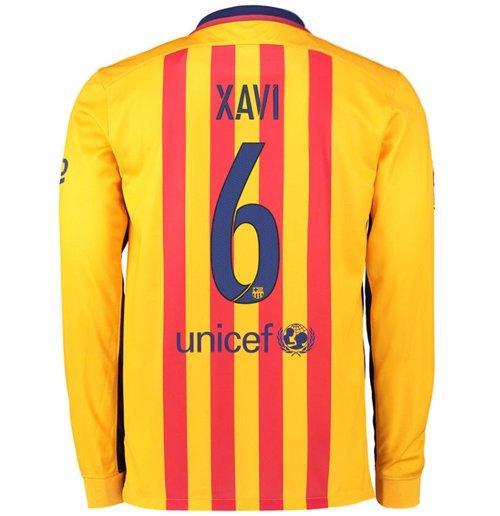 eec4eefeb5 Compra Camiseta FC Barcelona 2015-2016 Away (Xavi) Original