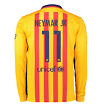 Camiseta FC Barcelona 2015-2016 Away (Neymar Jr 11)