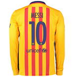 Camiseta FC Barcelona 2015-2016 Away (Messi 10)