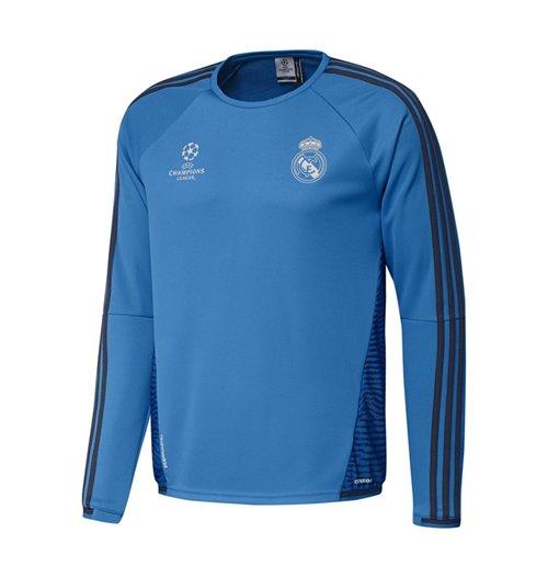 Compra Camiseta manga larga Real Madrid 2015-2016 (Azul oscuro) 4993b9fd98e00